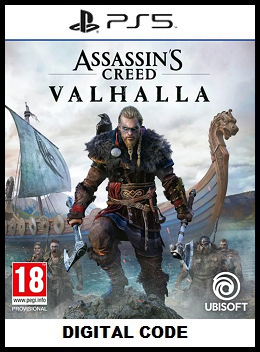 Assassin's Creed Valhalla PS5 free redeem codes