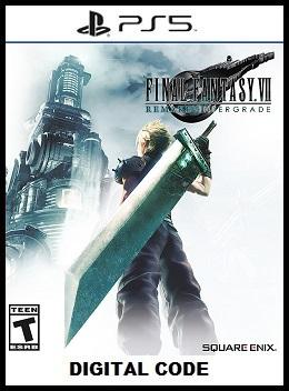 Final Fantasy VII PS5 free redeem codes