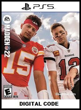 Madden NFL 22 PS5 free redeem codes
