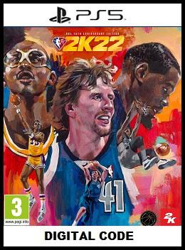 NBA 2K22 PS5 free redeem codes